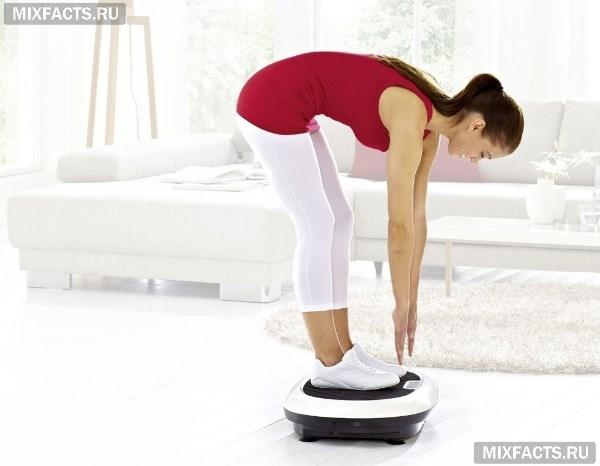 Виброплатформа – польза и вред снаряжения, правила выполнения упражнений для похудения