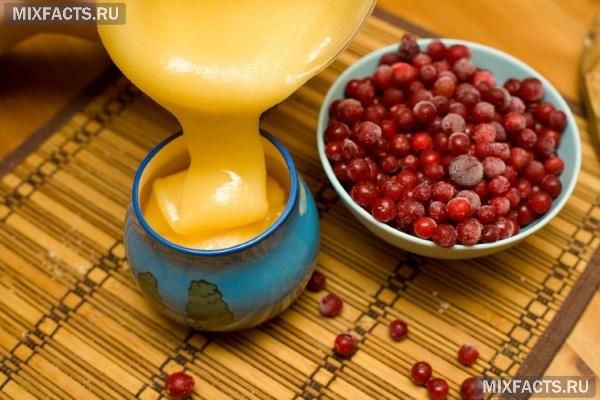 лечебный напиток из брусники и мёда рецепт