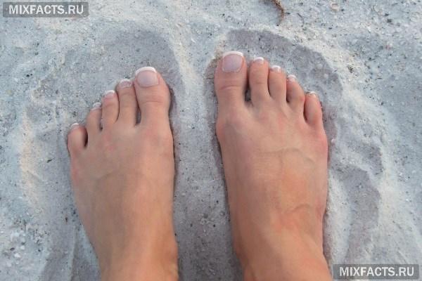 Трещина между пальцами на ноге