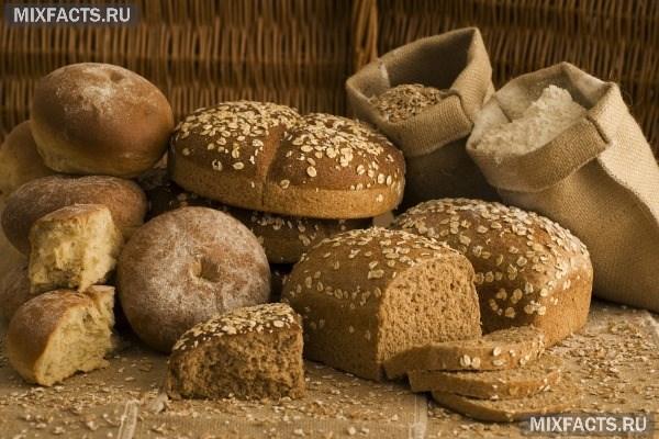 Польза черного и белого хлеба