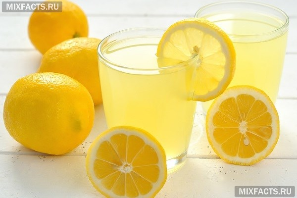 рецепт при комнях с лимоном