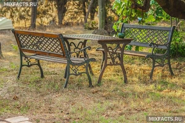 Какую садовую мебель выбрать - Дачная Жизнь