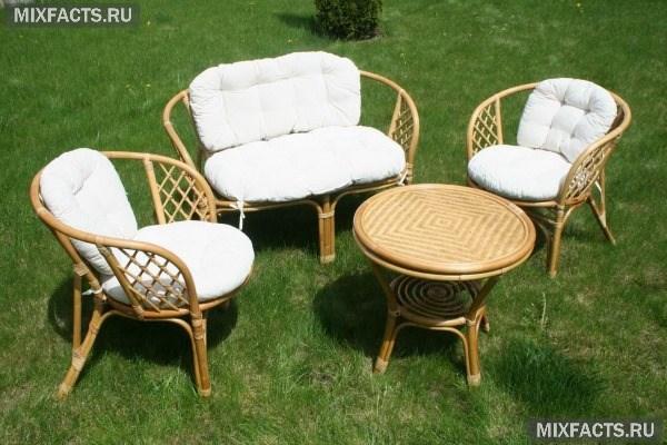 Садовая мебель из металла, пластика, дерева и ротанга — какую лучше выбрать для дачи и дома?