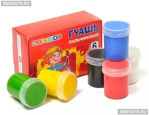 Пальчиковые краски для малышей от 1 года – как выбрать и рисовать?