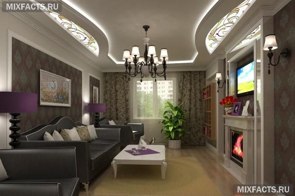 дизайн гостиной в хрущевке 1
