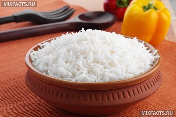 Рис замоченный для очищения