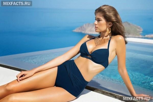 Как выбрать купальник с высокой талией? Фото актуальных моделей