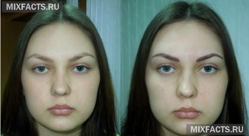 Как сделать брови хной в домашних условиях фото