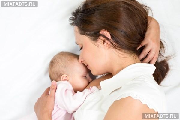 Месячные после родов при кормлении грудью