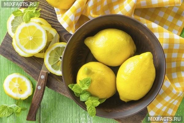 Маска для волос с соком лимона