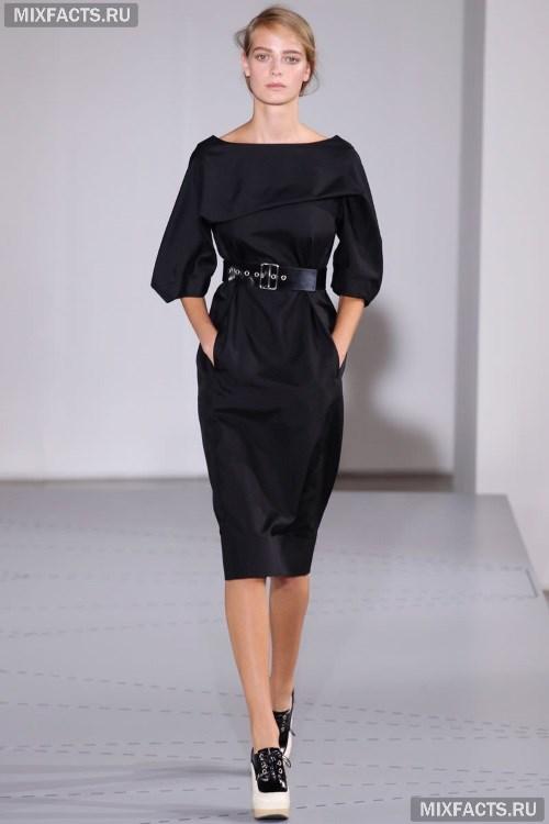 91302e2a371 Офисные платья 2017. черное платье