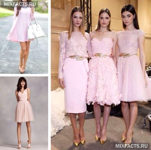 dd93f49de20 Аксессуары к розовому платью с фото