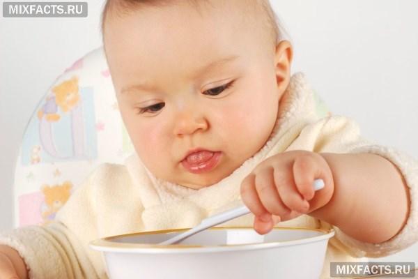Меню ребенка в 10 месяцев на искусственном вскармливании