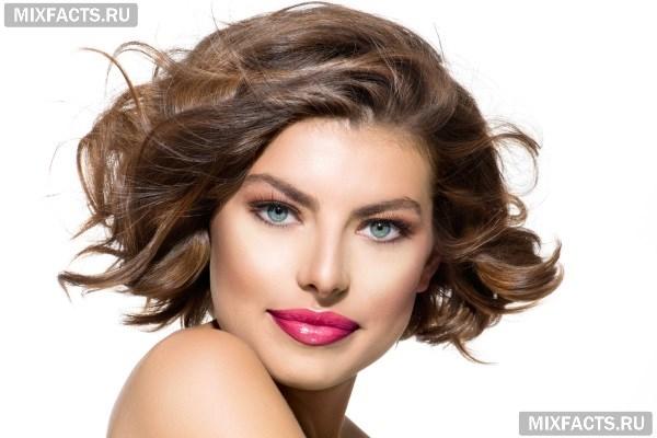 Прически для тонких волос, примеры подходящих стрижек 73