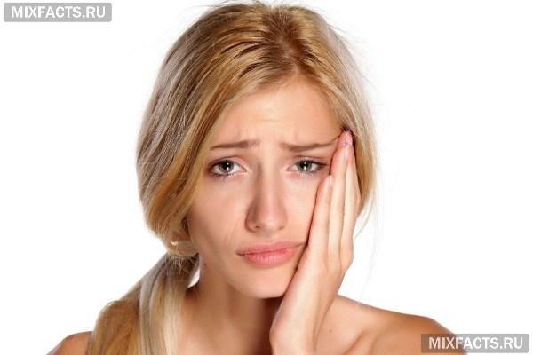 Как снять отек, если опухла десна, но зуб не болит?
