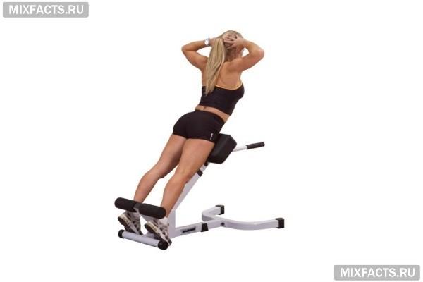 Тренажер для укрепления и растяжки мышц спины