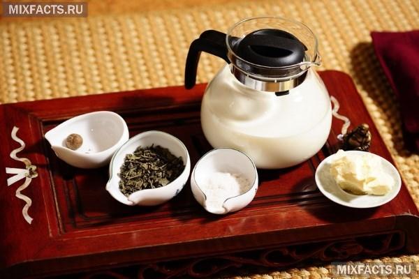 Как приготовить калмыцкий чай с молоком?