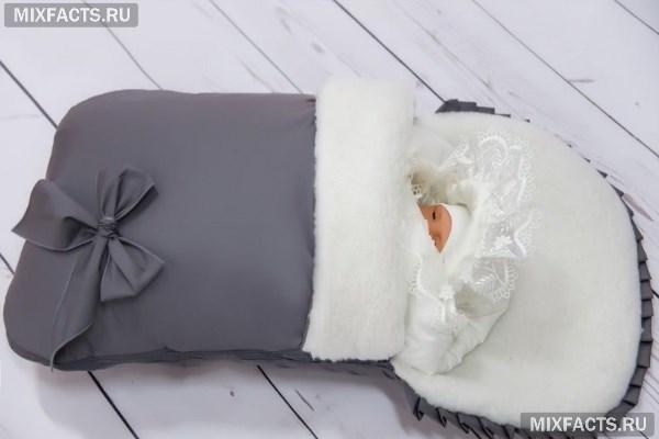 Виды конвертов на выписку на зиму, лето, осень и весну? Как сшить конверт своими руками по выкройке?