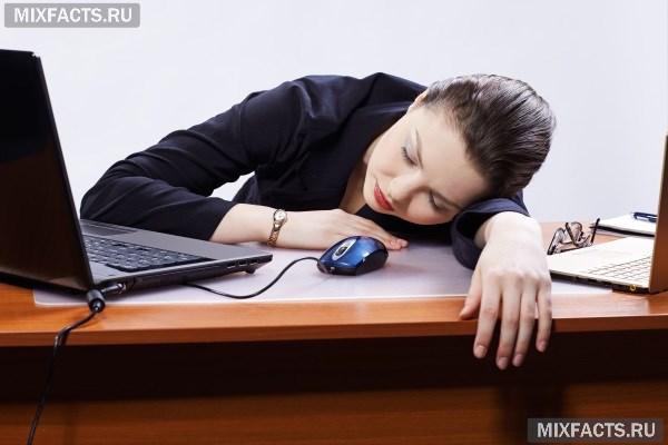 Как избавиться от сонливости и вялости?