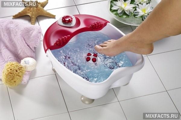 Ванночки с марганцовкой для ног