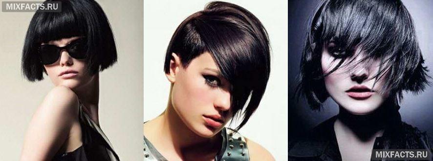 модные оттенки черного цвета волос окрашивание волос фото