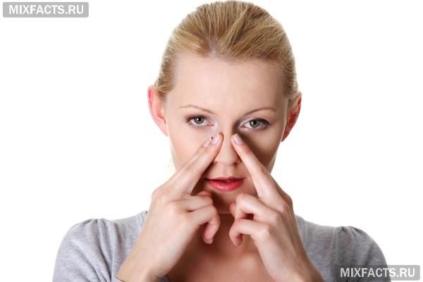 Как снять отек слизистой носа в домашних условиях?
