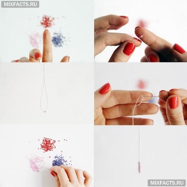 _кисти_инструкция Как сделать серьги-кисти своими руками из бисера, ниток, камней?