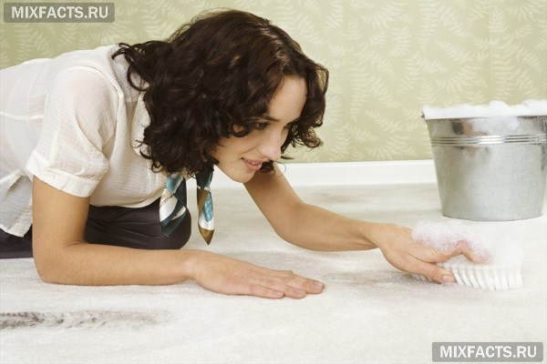Как почистить ковер от грязи, пятен и запаха в домашних условиях?
