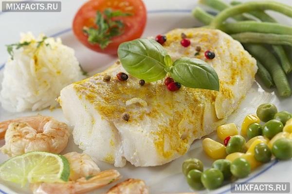 Жареная рыба при похудении