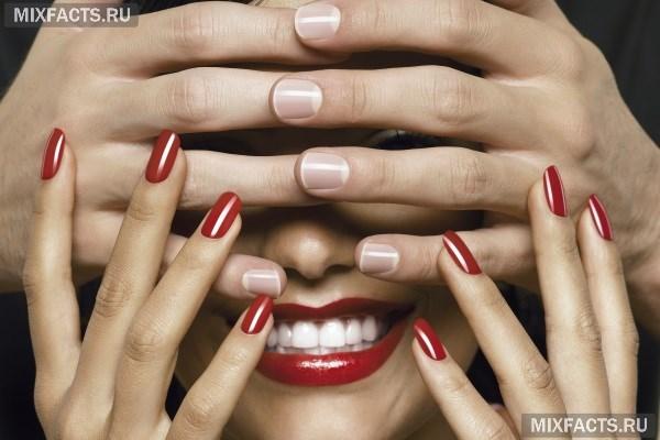 Неровные ногти на руках причины