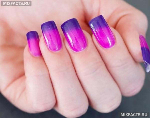 Термолак для ногтей – дизайн и правила нанесения