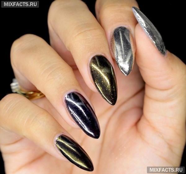 Втирка для ногтей – виды и новинки дизайна с фото