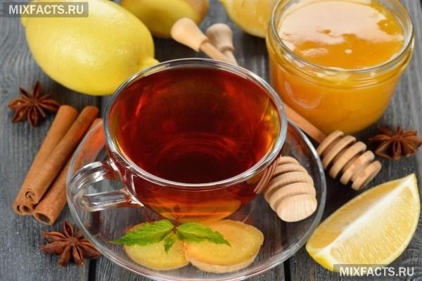 рецепт мед лимон и имбирь