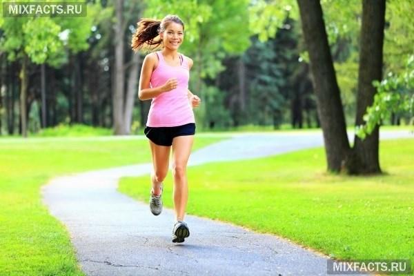Бег для тонуса мышц