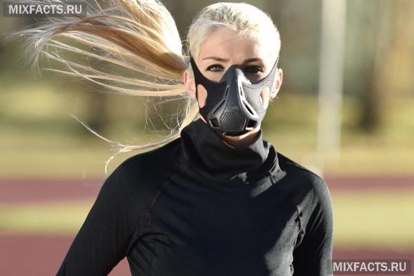 Тренировочная маска для бега или гипоксическая маска  вред и польза