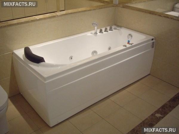 Как выбрать ванну с гидромассажем по типу, размеру и материалу?