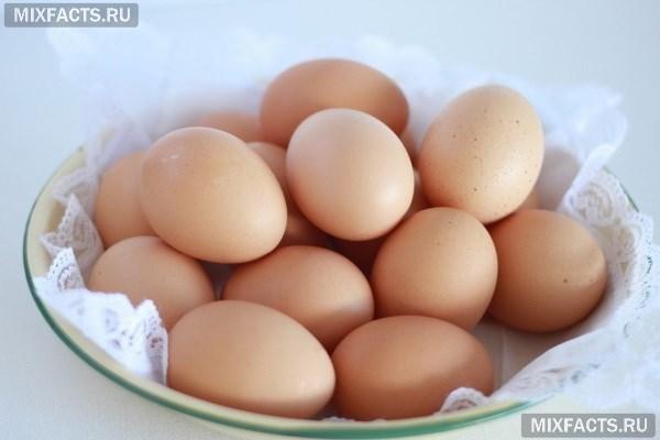 Скорлупа яйца с лимонным соком