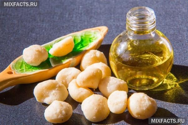 Масло макадамии – полезные свойства и применение для волос, лица, рук
