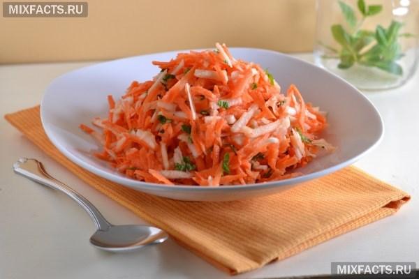 Салаты из морковки для похудения