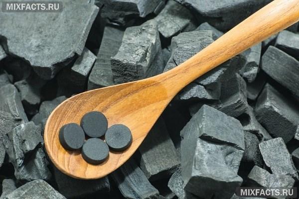 Активированный уголь при крапивнице дозировка