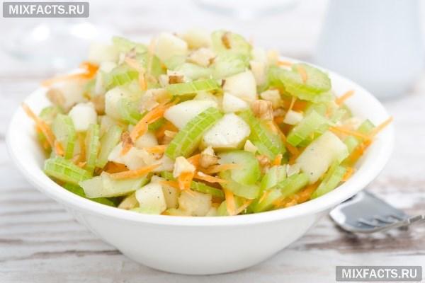 салат из корневого сельдерея со сливками рецепт