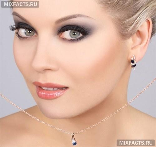 Фото лицо в макияже
