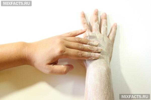 Домашний скраб для рук - лучшие рецепты и правила использования