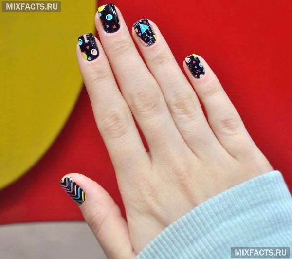 Лучшие идеи для дизайна ногтей со слайдером