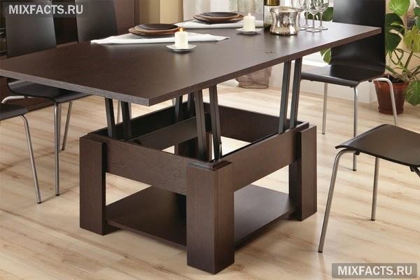 стол трансформер для кухни гостиной школьника и кормления виды и