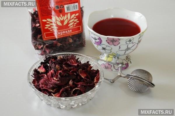 Чем полезен чай каркаде и как правильно его заваривать?