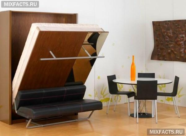 Мебель трансформер для малогабаритной квартиры своими руками 136