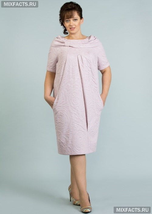 8cc729cb87d Мода для полных женщин за 50 лет (фото)