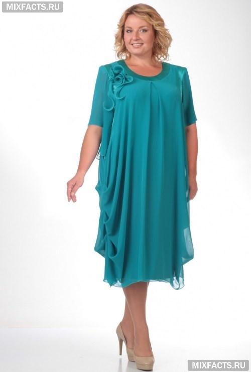 5ce10a25b22 Мода для полных женщин за 50 лет (фото)
