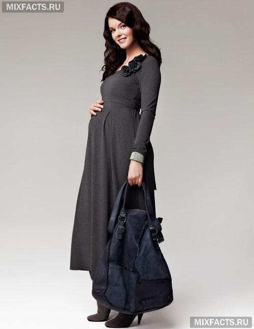 ee1b9064afa Фасоны платьев для беременных (фото)